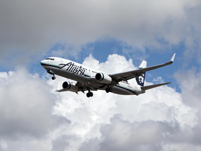 Alaska Airlines is testing fingerprint ticketing technology
