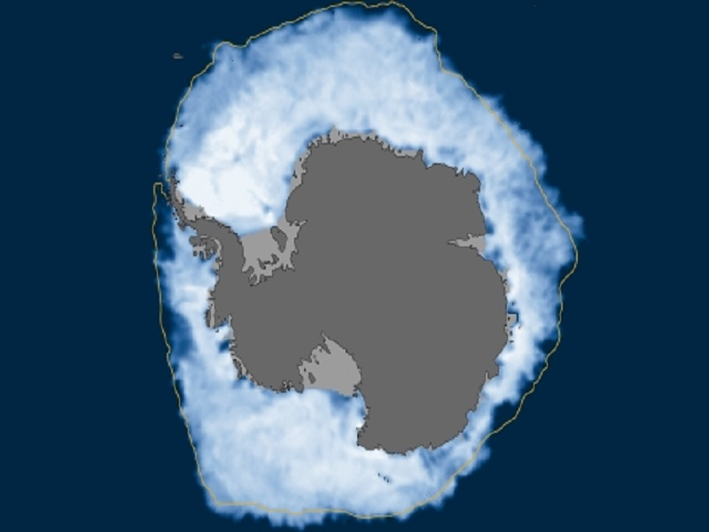 Record Antarctic sea ice in midst of record melting perplexes scientists