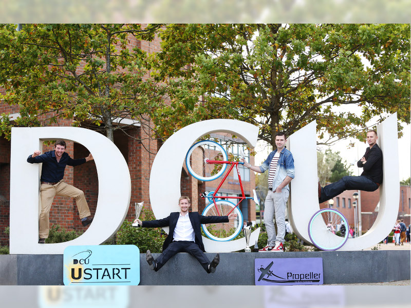 Fixies and fitness take home top honours from DCU start-up showcase