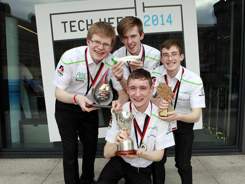 Guest column: Ireland's AutoLaunch Racing in pole position for F1 in Schools contest