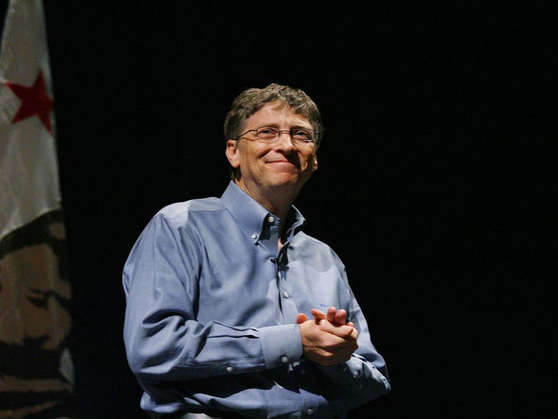 Bill Gates would have to spend US$1m a day for 218 years to go broke