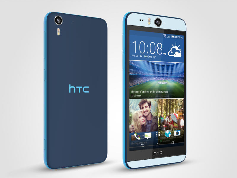 HTC reveals Desire Eye smartphone with two 13MP cameras, also reveals GoPro rival