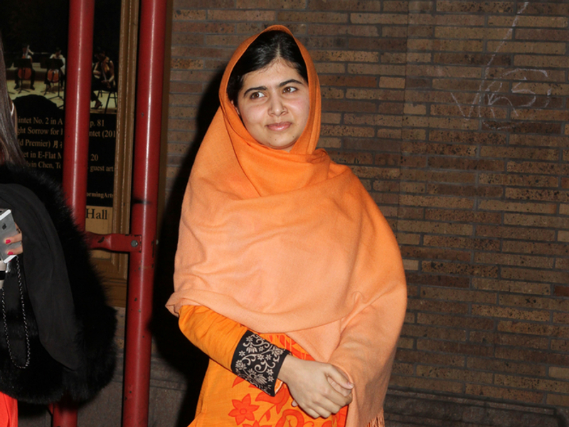 Malala Yousafzai is the youngest winner of the Nobel Peace Prize