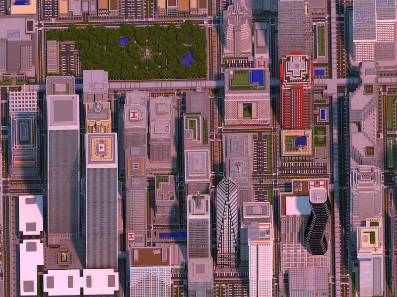 Minecraft player spends 2 years and 4.5m blocks to make mega-city