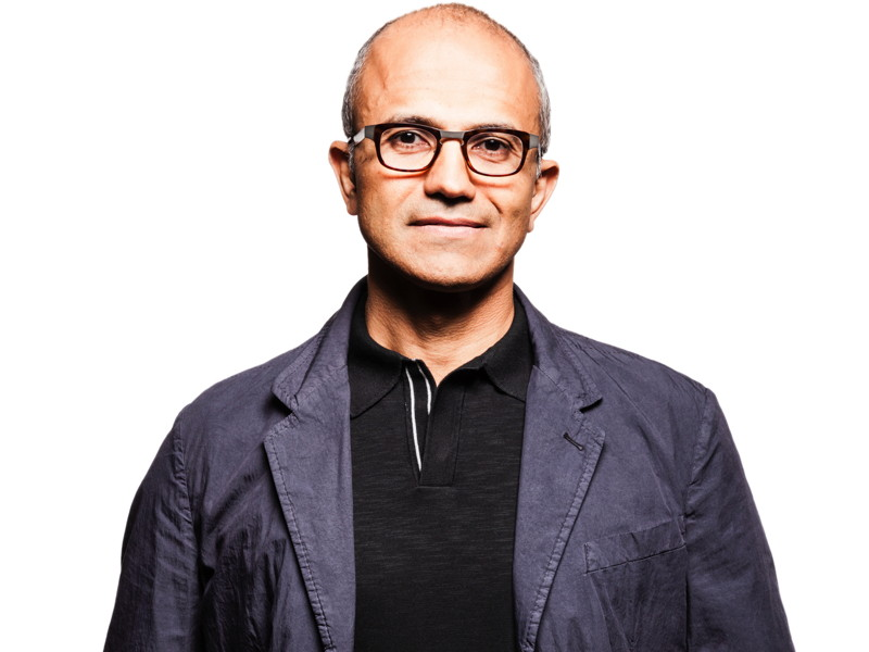 Microsoft CEO Satya Nadella is the highest earner in tech