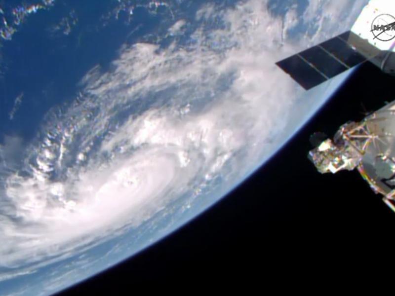 NASA tweets dramatic image of Hurricane Gonzalo
