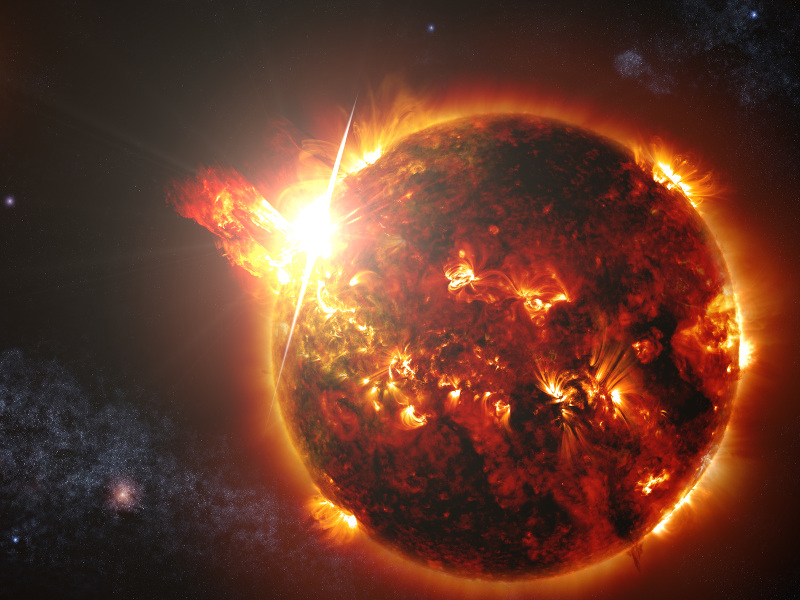 NASA detects red dwarf flare 10,000 times more powerful than largest from sun
