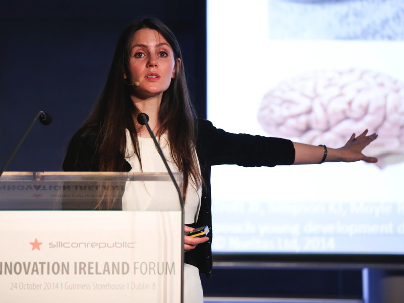 'We are creating the future of food' – Nora Khaldi, CSO and founder of Nuritas (videos)