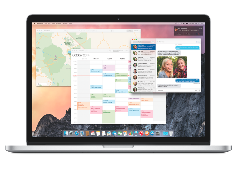 Apple says it only temporarily gathers data from Spotlight in Yosemite