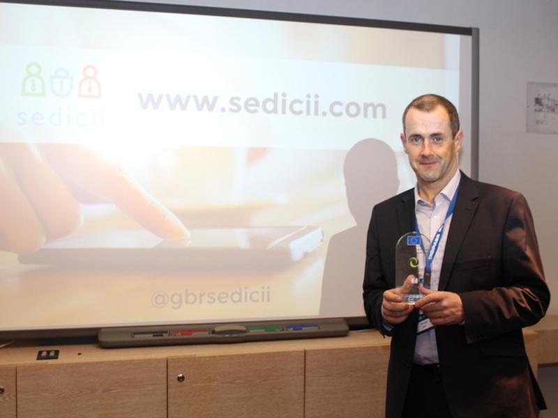 Cybersecurity company Sedicii wins EU-backed award