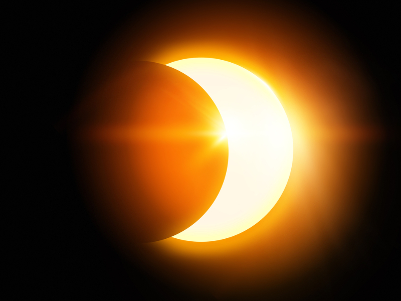 US to experience a partial solar eclipse tomorrow evening