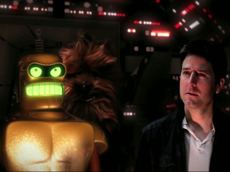 Viral videos of the week: RKOs, robots, a diva in the making and Star Wars remade