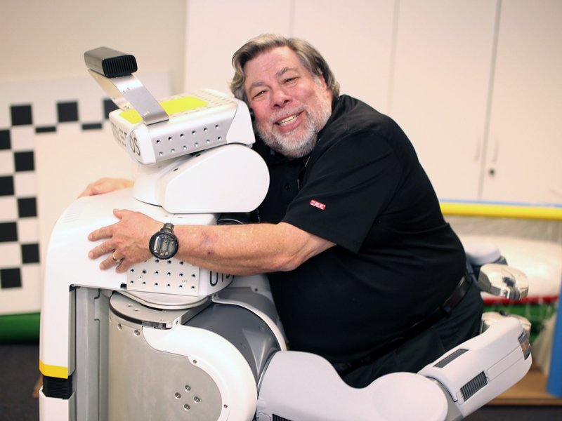 Steve Wozniak joins Australian university as virtual professor