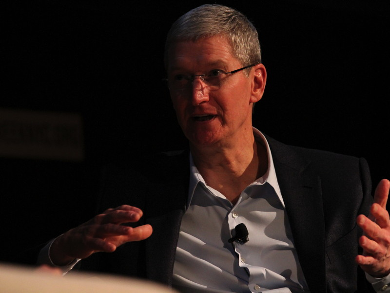 Being gay is a 'gift from God', says Apple CEO Tim Cook