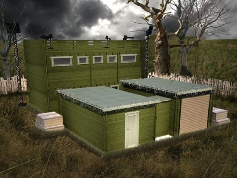 Finally! A new zombie-proof cabin is now for sale