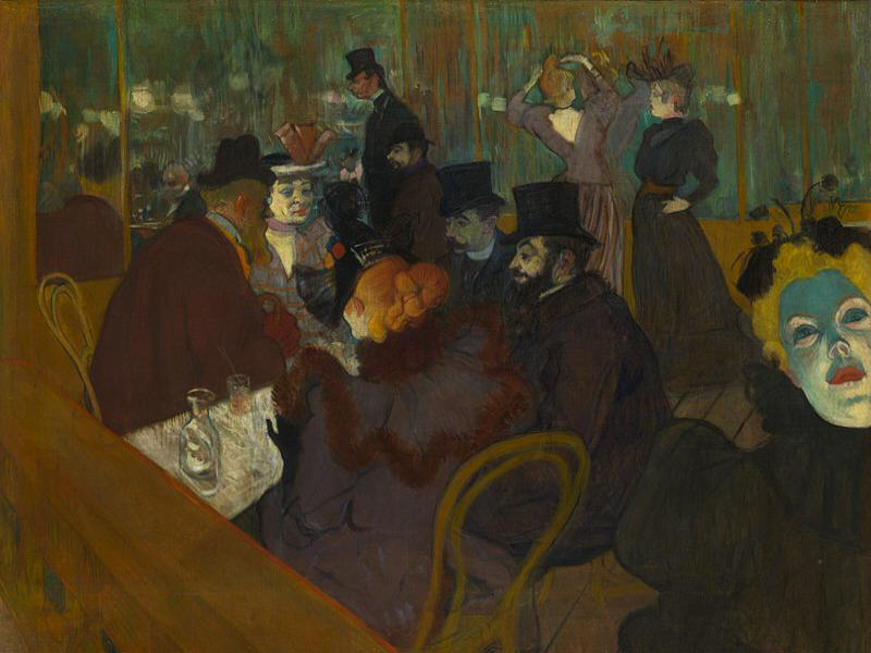 Google doodle honours Henri de Toulouse-Lautrec's 150th birthday