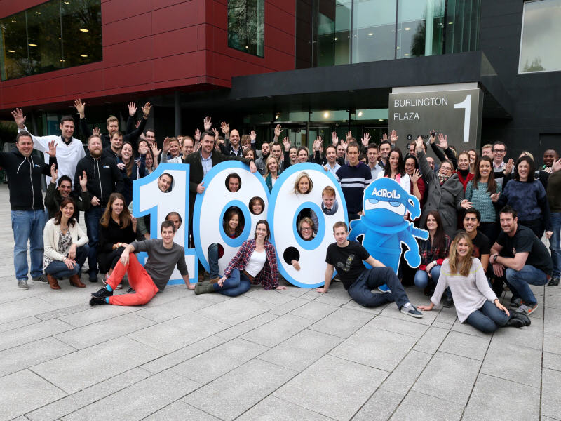AdRoll grows to 100 tech workers in Dublin, ahead of target