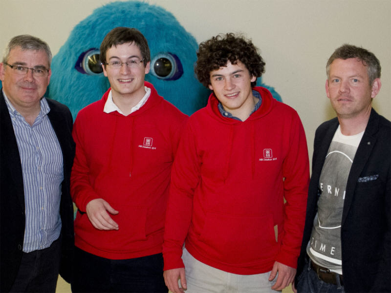 Two brothers win first AIB €4,000 big data prize