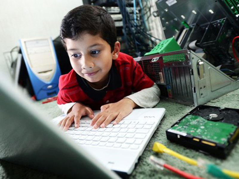 Six-year-old becomes world's youngest-ever certified computer specialist
