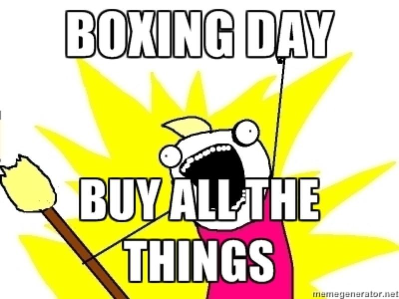 Gigglebit: Memes for braving post-Christmas sales
