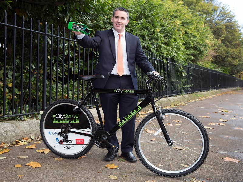 30 Dublin bikes to measure city's air quality as part of CitySense project (updated)