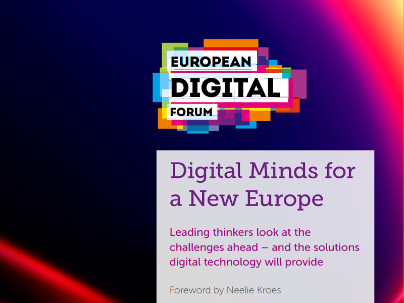 World's digital leaders write e-book on thoughts of Europe's digital future