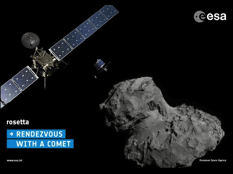 Rosetta a stone's throw from comet landing – watch it live