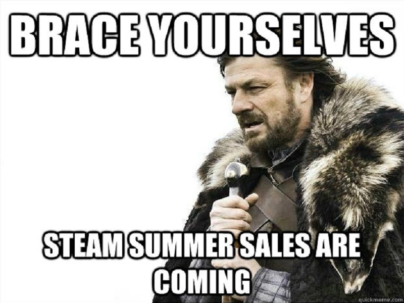 The Steam sales are coming, please empty your wallets (memes)
