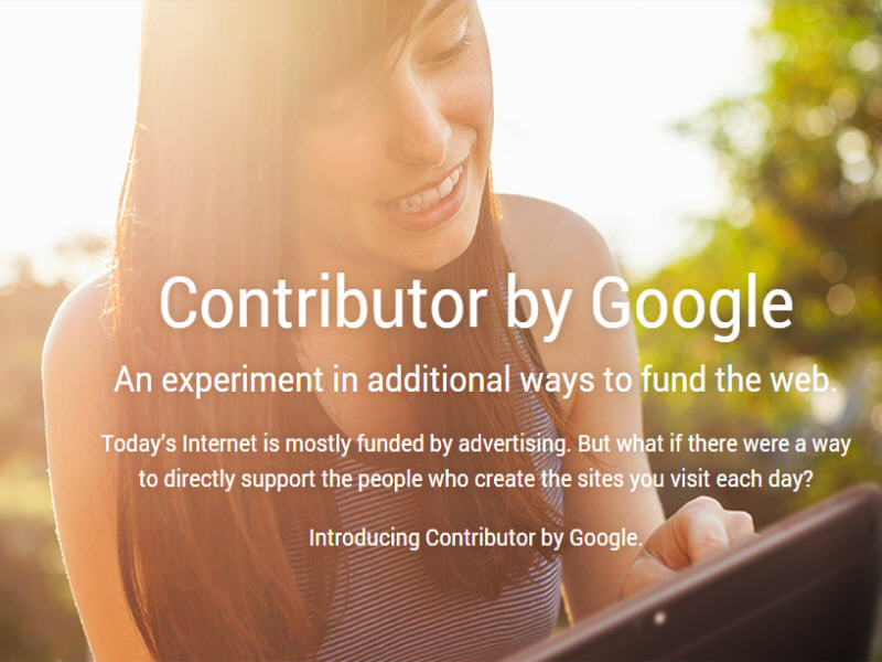Google creates revenue generating platform for publishers called Google Contributor
