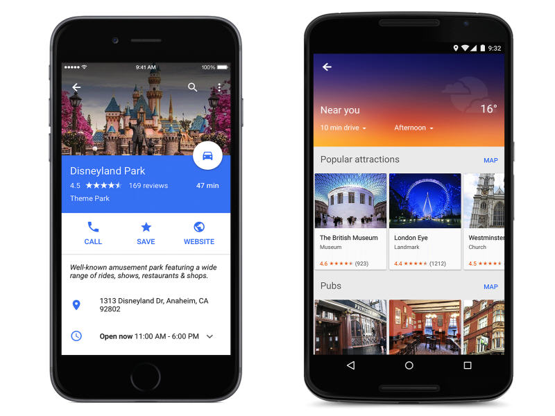 Google revamps Google Maps, gives it a 'material design' makeover