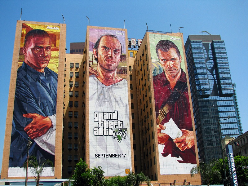 Over 2.3bn hours spent playing GTA Online in just one year (infographic)