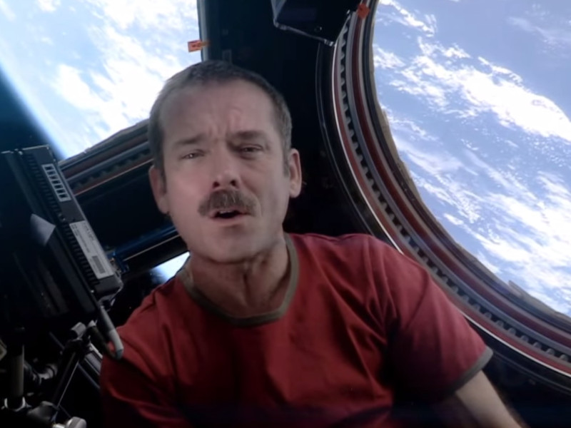 Chris Hadfield's Space Oddity returns to YouTube