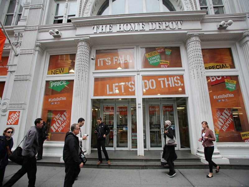 Home Depot breach facilitated by hole in its online defences
