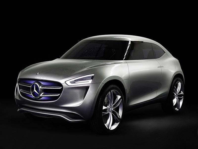 Mercedes concept car has paint that acts as solar panels