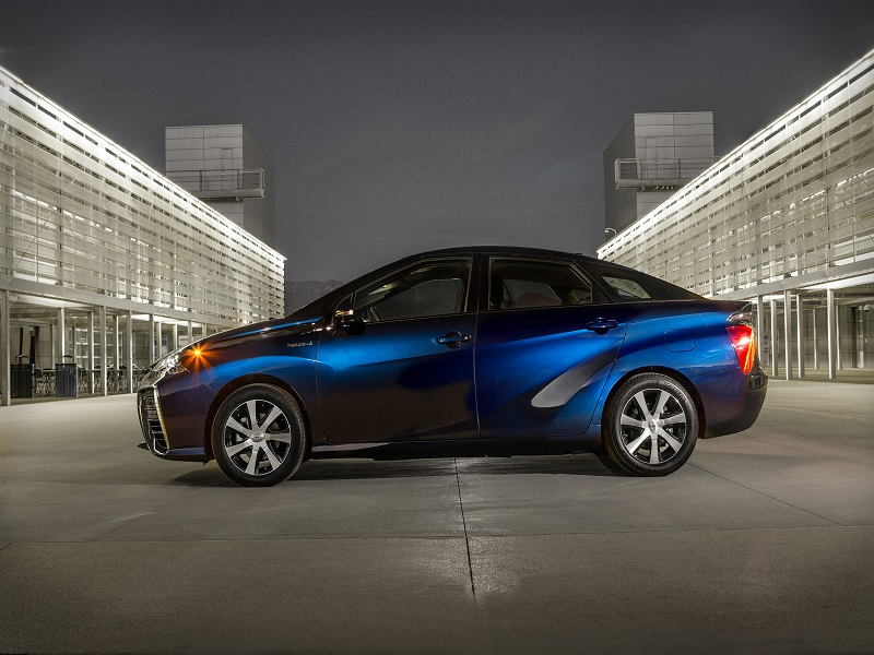 Toyota's first hydrogen car, Mirai, due for autumn 2015 release