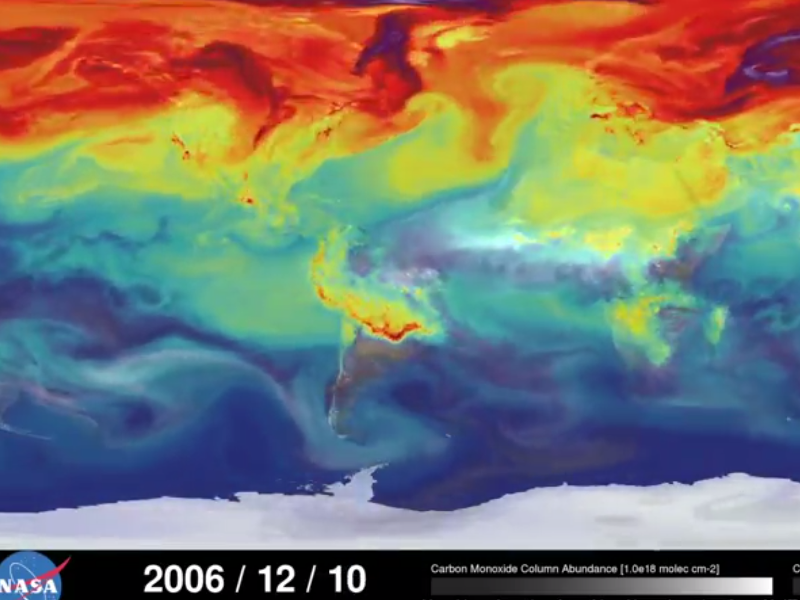 Awesome NASA project shows global carbon dioxide trends in new light (video)