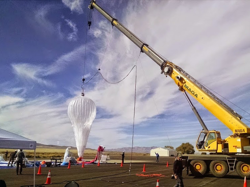 Battle for air supremacy heats up as Google's Project Loon expands