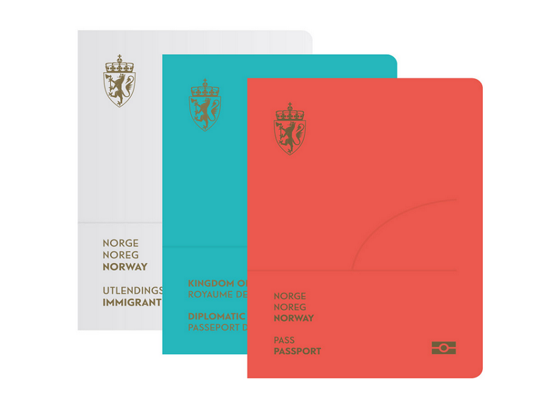 Norway to introduce beautiful UV light passports in 2017