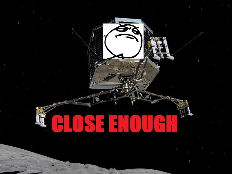Gigglebit: Pilot your own Philae lander!