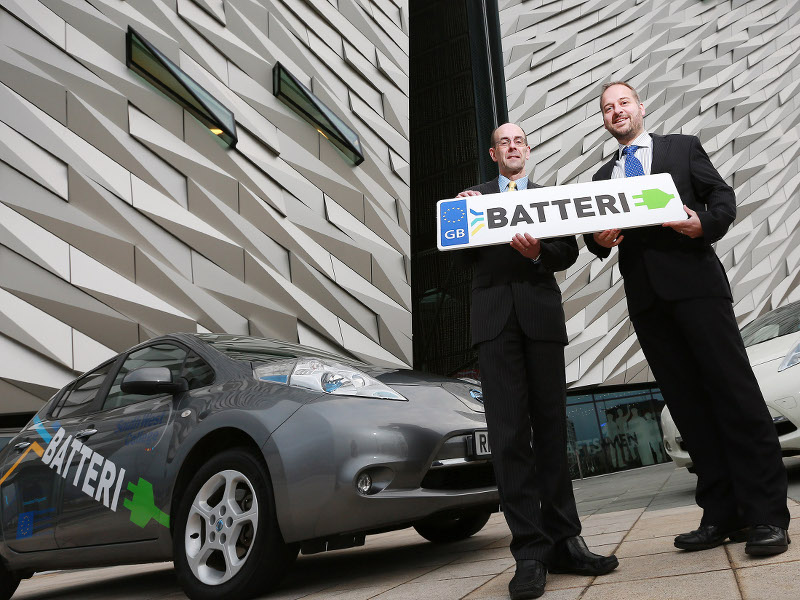 World's first e-car journey planning tool launched in Belfast