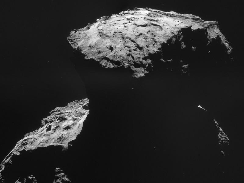 Rosetta comet landing site has a new name: Agilkia