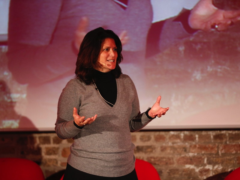 Astia's Vosmek tells Women Invent Meet-up: Firms need women because innovation needs women