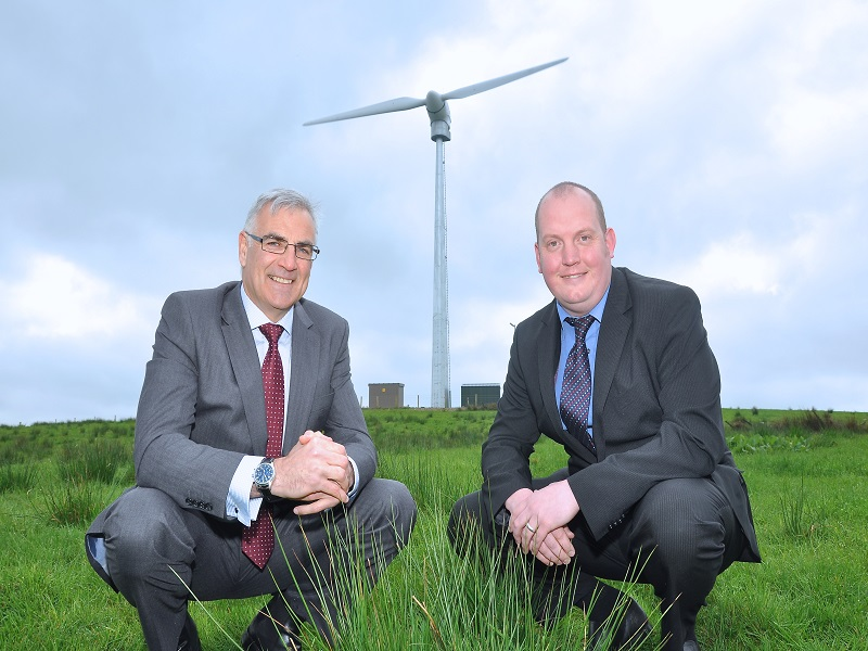 7 new wind turbines begin operation in Northern Ireland for rural areas
