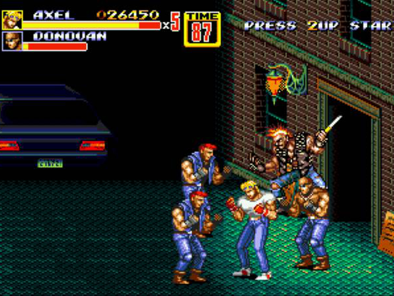 Scrolling Pixels: 'Streets of Rage II' and the 16-bit beat 'em' up
