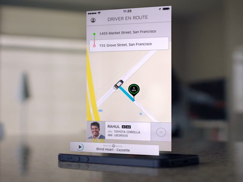Uber now allows people to stream Spotify in cab to annoy drivers