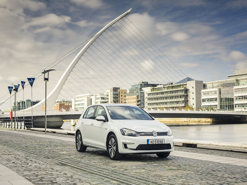 VW e-Golf's a good starter but struggles on the back 9 (review)