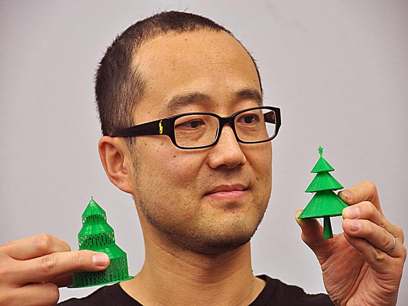 3D-printed Christmas trees promise greener festive future