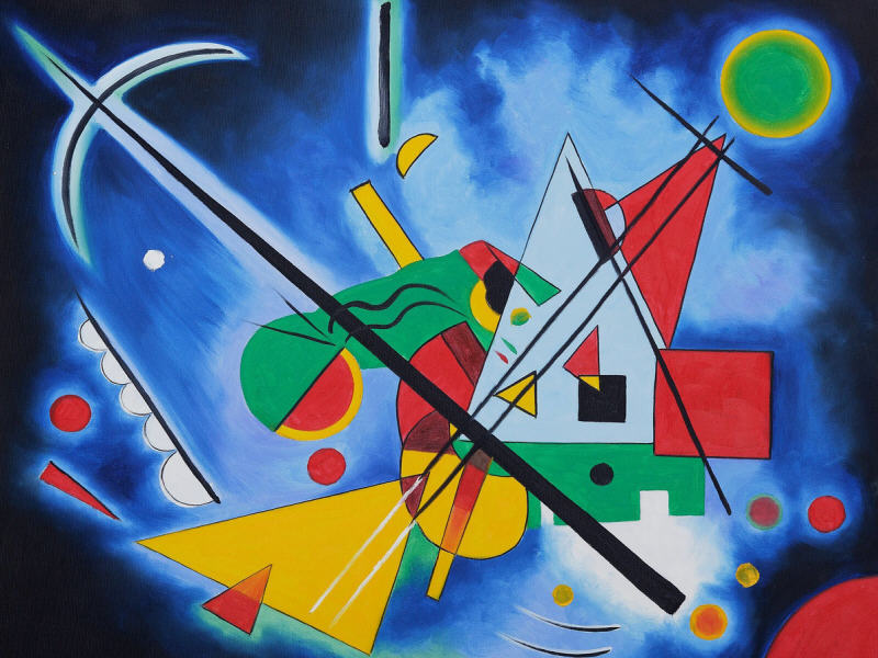 Google Doodle celebrates abstract painter Wassily Kandinsky
