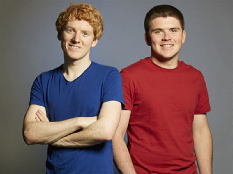 Collison brothers' Stripe raises US$70m – now valued at US$3.5bn