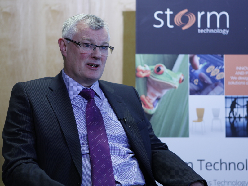 Storm Technology eyes job opportunities in Dublin (video)